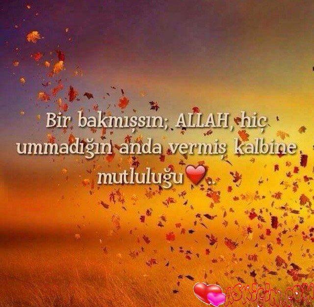 Allah Hiç Ummadığın Anda – Resimli Sözler
