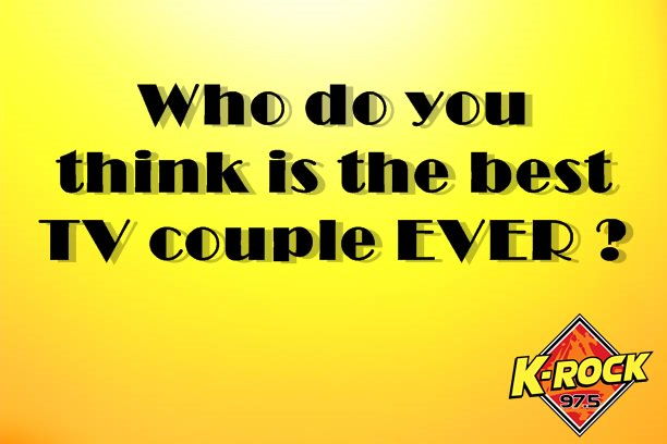 975krock On Twitter Who Do You Think Is The Best Tv Couple Ever