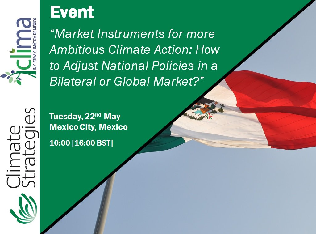 test Twitter Media - 🆕CS EVENT: Market Instruments for more Ambitious #Climate Action, with the Climate Initiative of Mexico (@iniciativaclima) and Michael Mehling (@mmehling) - TODAY at 10:00 [16:00 BST], Mexico City. Further information at: https://t.co/W0dHDkngbq https://t.co/gVb7ap9CQx