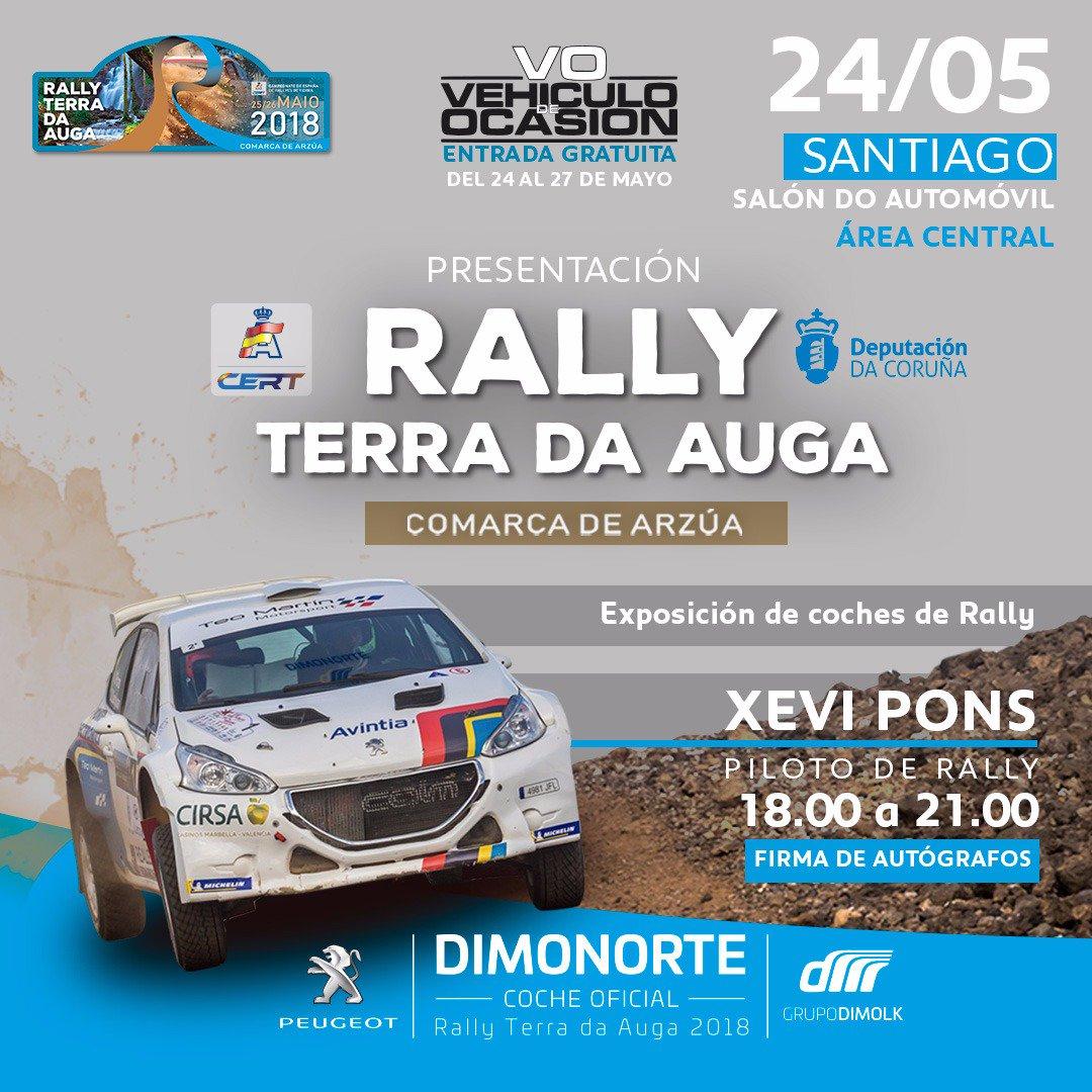 CERT: Rallye Terra da Auga - Comarca de Arzúa [25-26 Mayo] DdzIEI7UwAI8Hbz
