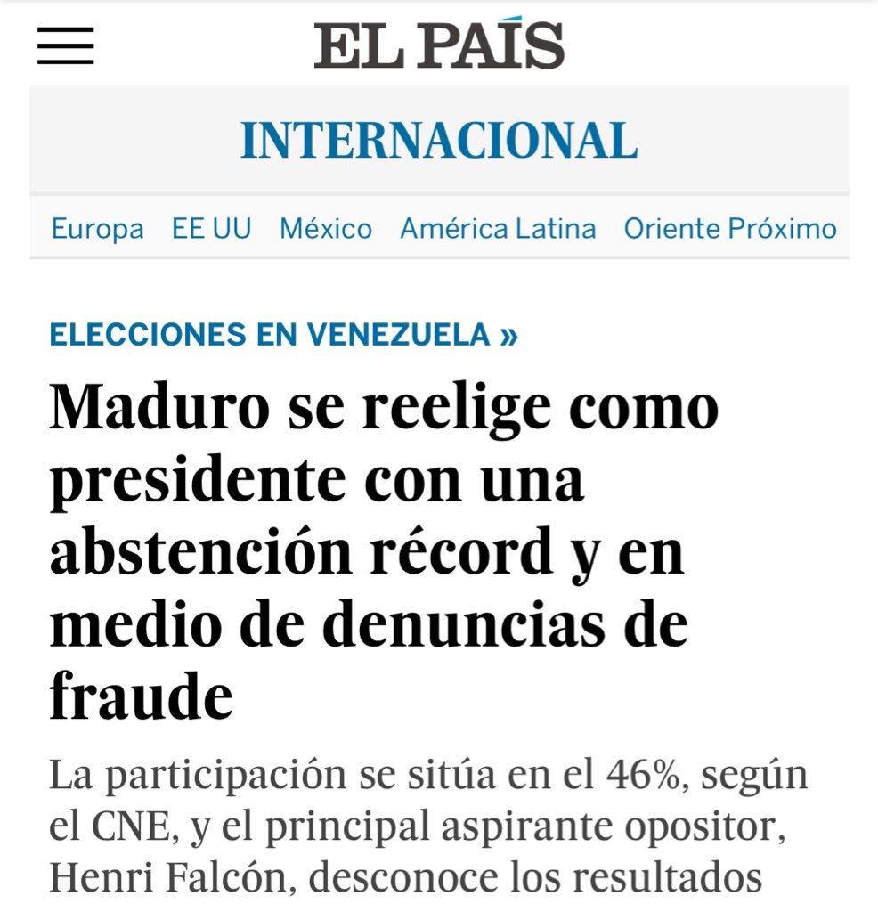 AFP - Venezuela un estado fallido ? - Página 28 DdzIEcdU8AUkoiN