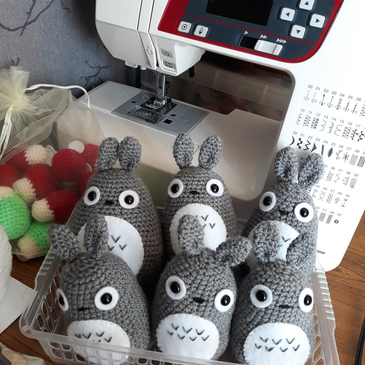 Totoro Free Crochet Pattern | Crochet patterns, Crochet crafts ... | 1200x1200