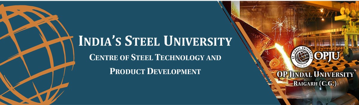 The Centre of Steel Technology and Product Development (#CSTPD) has been established at OPJU, Raigarh by the Jindal Steel &amp; Power Ltd. (JSPL) Group to cater to the needs of the entire Indian Iron &amp; Steel producers and User Industries.  Jindal Steel &amp; Power Ltd., Raigarh <br>http://pic.twitter.com/O1Tk1RZ0uD
