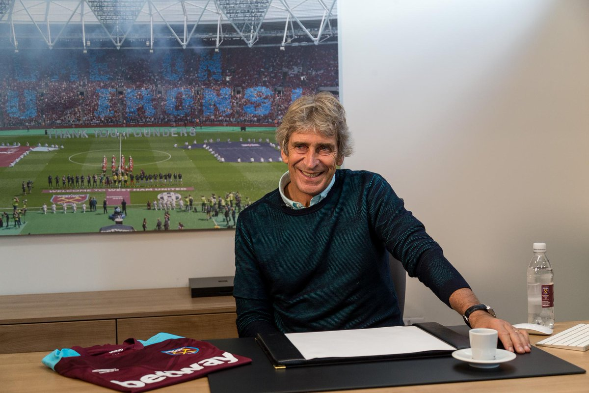 I hope we are going to play football that delights the fans  Manuel Pellegrini on his return to the #PL 👉 preml.ge/XQtQsN