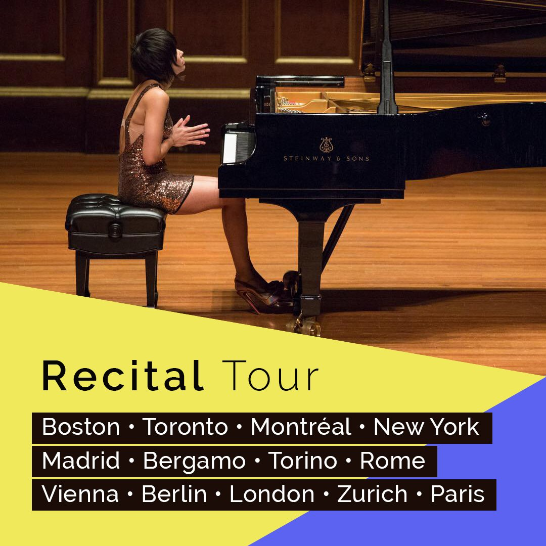 Reloaded twaddle – RT @YujaWang: I am excited to start the European part of my recital tour at Audi...