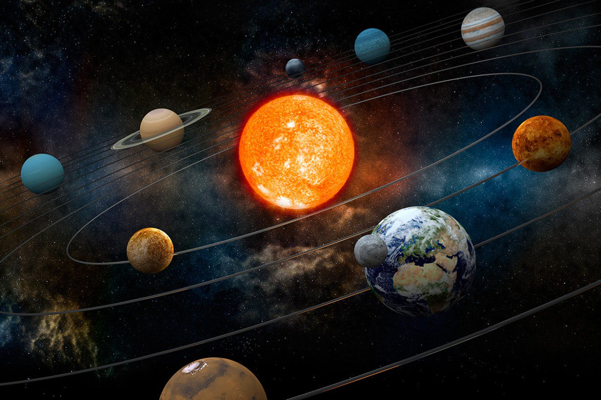 solar system images - 1080×707