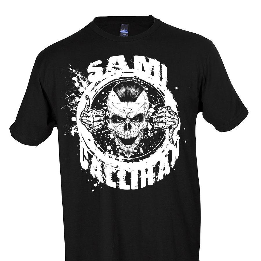 .@TheSamiCallihan has demanded it so a BRAND NEW Sami Callihan t-shirt is available now @shopimpactdeals. Grab yours now to represent The Draw.   HERE: impac.tw/SamiCallihan