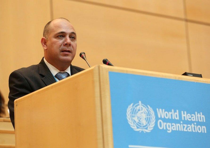 Ministro cubano de Salud habla en Ginebra