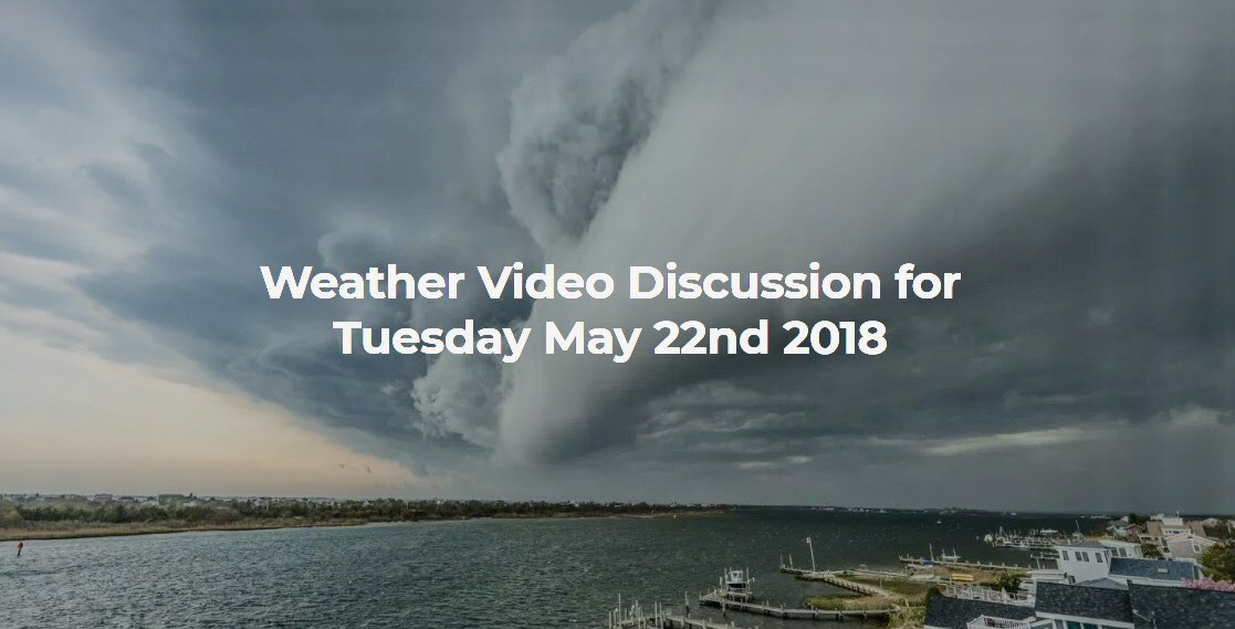 Todayu0027s weather video discussion from nynjpaweather is