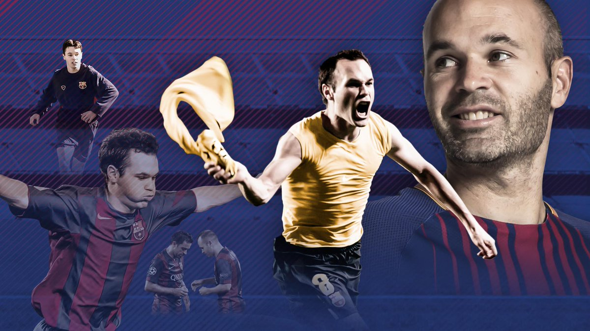��❤️ Take a look back at @andresiniesta8's phenomenal Barça career... �� https://t.co/vlJ6pwRbSs #Infinit8Iniesta https://t.co/lmUalZtNGh