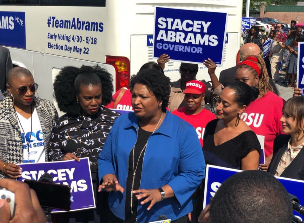 TODAY is the day!!! #Georgia VOTE! VOTE! VOTE! @staceyabrams for GOVERNOR #TeamABRAMS