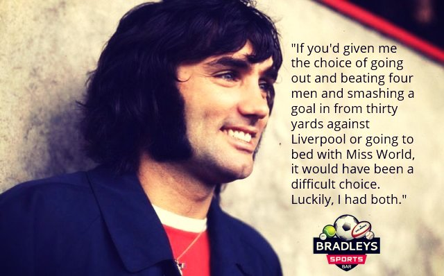 Happy Birthday George Best who would have been 72 today!