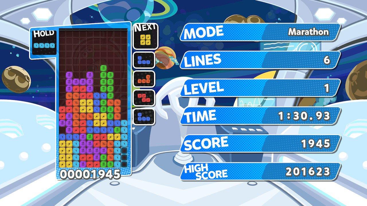 PuyoPuyo Tetris (Switch) Screenshot