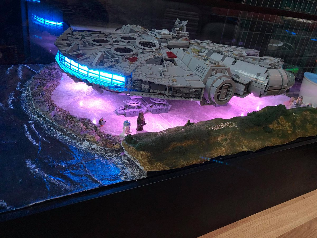 The Rpf On Twitter Quot Lego Millennium Falcon Coffee Table