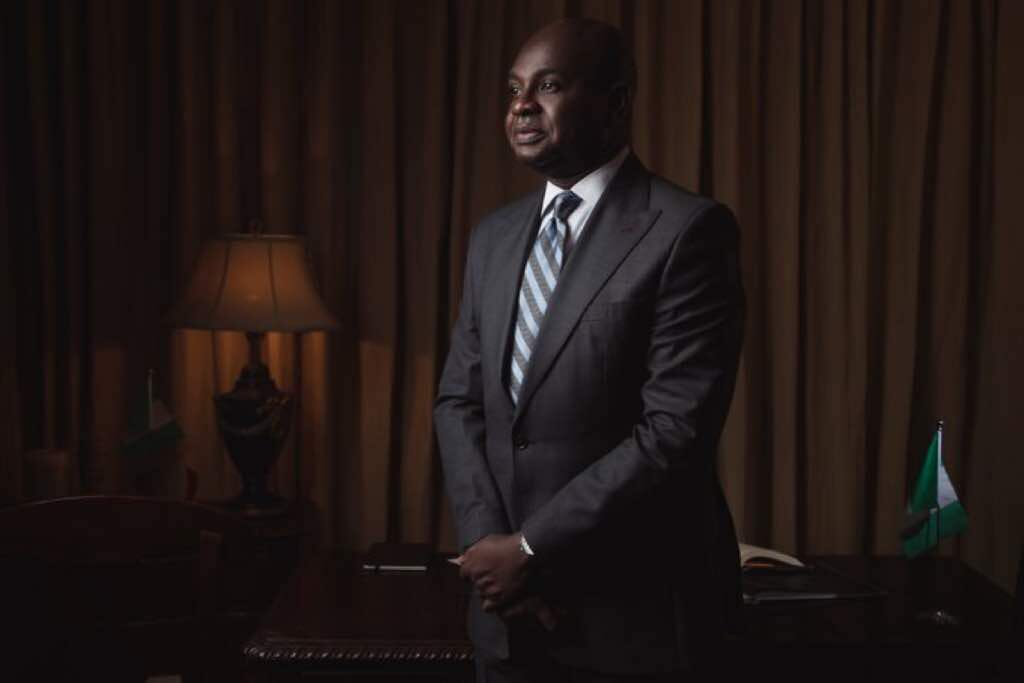 """Wise words from Kingsley Moghalu :   """"This is the jet age and Nigeria is lagging too far behind.  We must run much faster if we are ever to stand the chance of catching up.  We have no business with """"go-slow.""""    #KingsleyMoghalu<br>http://pic.twitter.com/QQ6Kr1e4eC"""
