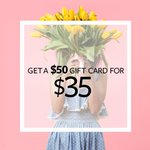 Show your beauty bestie you love them with a $50 gift card for only $35! . (Each Seva Studio is individually owned and operated. Offer valid at participating locations.)