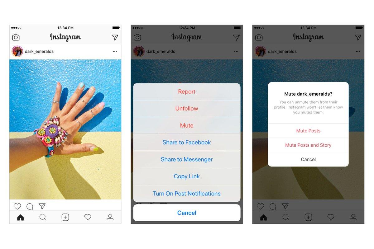 Instagram now lets you mute your friends https://t.co/eJ5pUEszVU