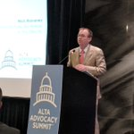 """#CFPB acting director, Mick Mulvaney, shares his leadership plans with @ALTAonline #ALTAsummit  """"Regulation by enforcement is gone.  We will make sure you know the law before we enforce it."""" #altasummit"""