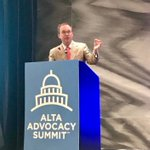 Great hearing from Mick Mulvaney, Acting Director of the CFPB, at the @ALTAonline 2018 Advocacy Summit #ALTASummit