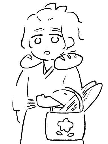 肩がパンパンの時に血迷って描いた