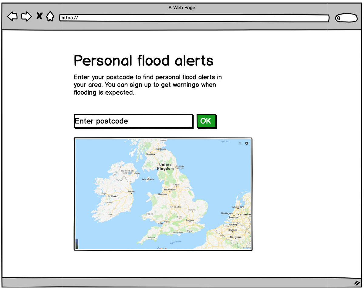 Interested in #floodrisk information? You can see and comment on what we&#39;re building in today&#39;s #floodhack2018 Click this link now:  http:// goo.gl/b7CGu1  &nbsp;   We&#39;d really value your feedback - everyone is welcome to take part. Please RT. #UserExperience #flooding #prototyping<br>http://pic.twitter.com/naG9GndnzR