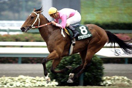 test ツイッターメディア - 去年の有馬記念にて見事1着で有終の美を飾ったキタサンブラック。 さぶちゃんの馬としても有名だね!  彼の祖父には・・・なんと引退戦のスプリンターズステークスをレコードという置き土産を残して勝利した、サクラバクシンオーの血が流れています! 超スプリンターのバクシンオー!強さは伝説級! https://t.co/MUReiPBZYZ
