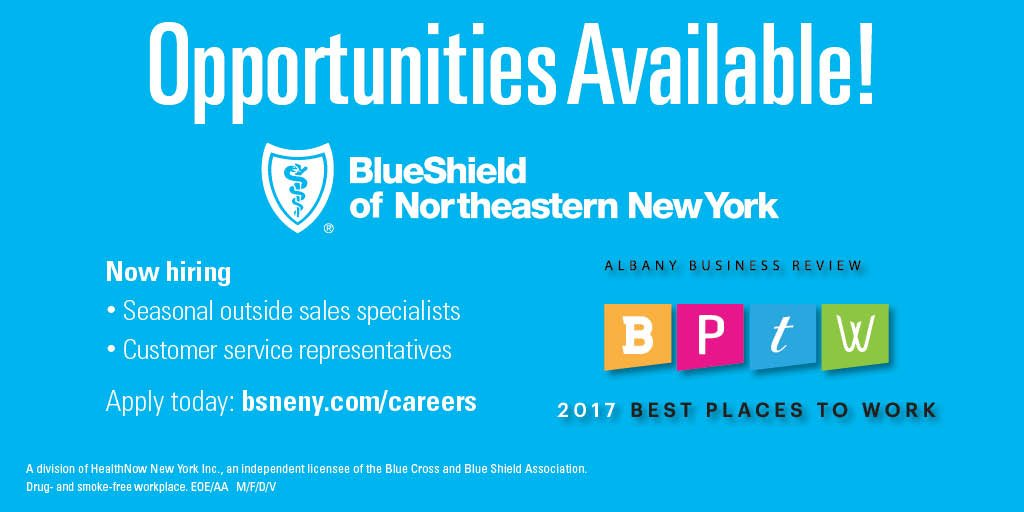 Blueshield Of Neny On Twitter We Re Hiring Customer Service