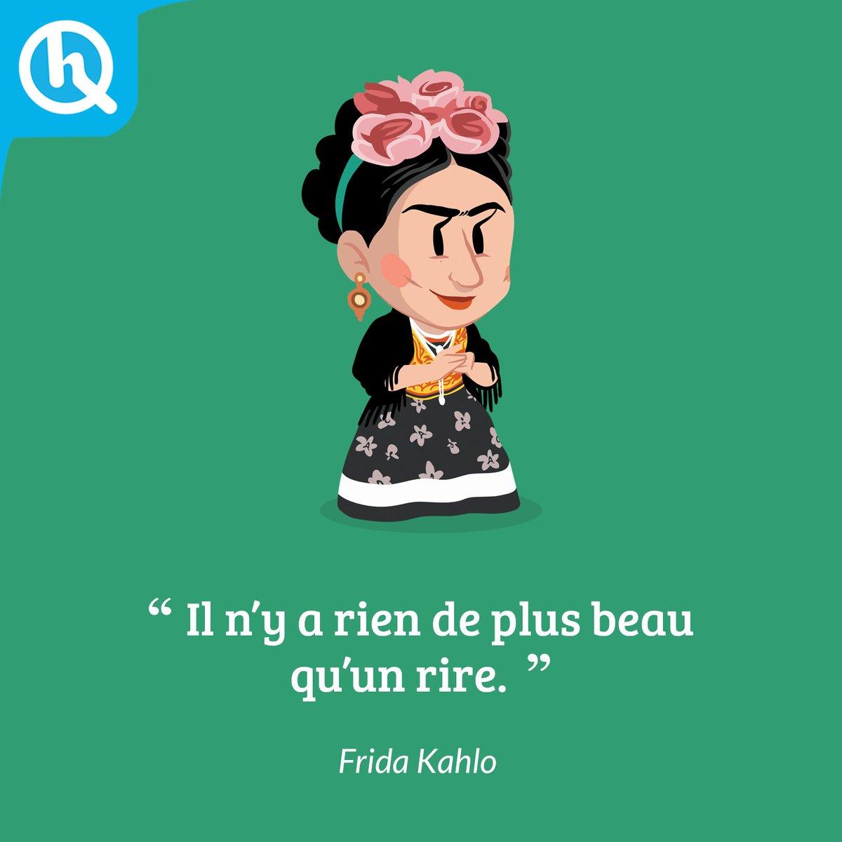 트위터의 Quelle Histoire 님 Citation Frida Kahlo Icone De