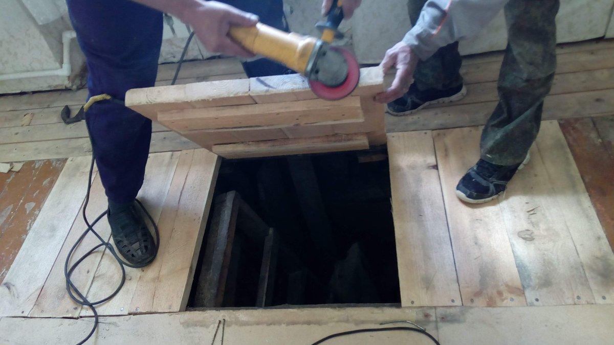 люк для деревянного пола