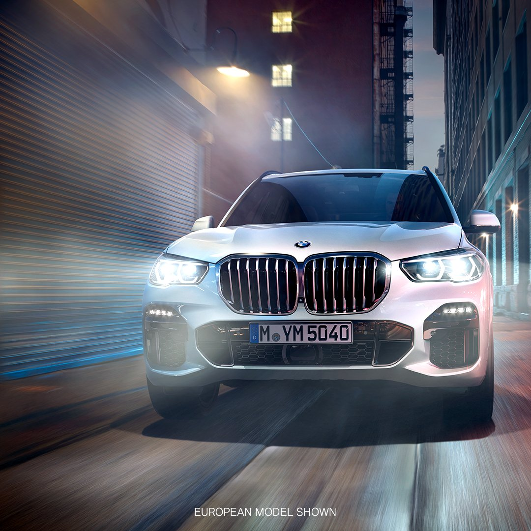 Charge into the night with confidence. The All-New BMW #X5, with iDrive 7.0 and available Remote Engine Start for the first time ever. Learn more: https://t.co/BwnqI3ddZ4 https://t.co/EfCdobxG1D