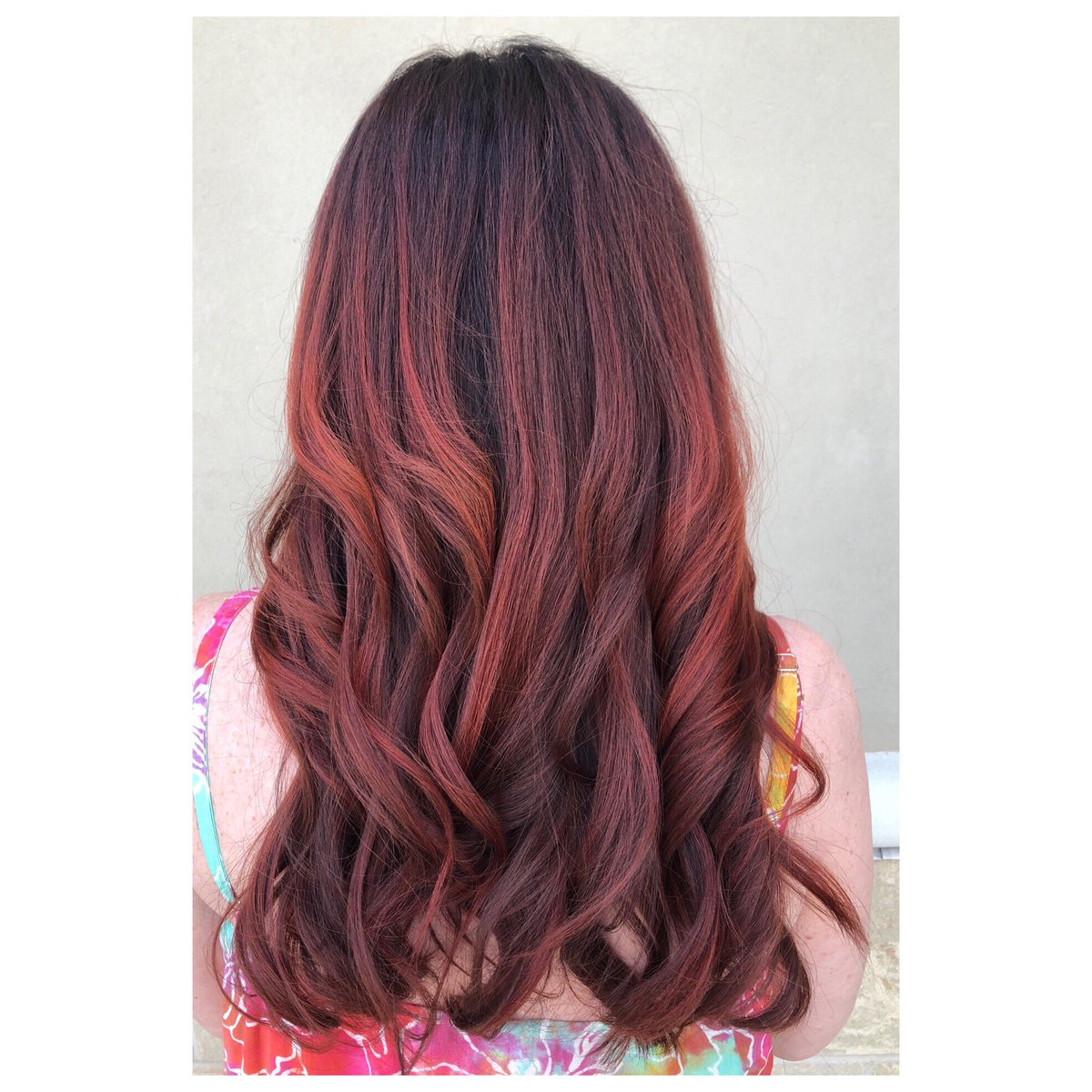 Samuel Cole Salon On Twitter If Cherry Coke Were A Hair Color
