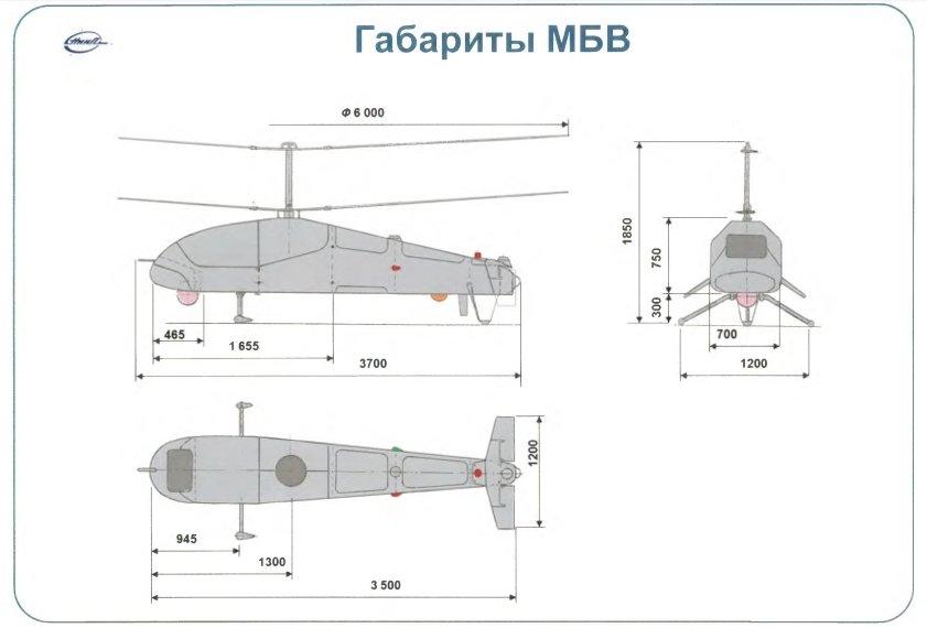 المروحيه الروسيه المسيره Katran  De-KljAVMAIbleN