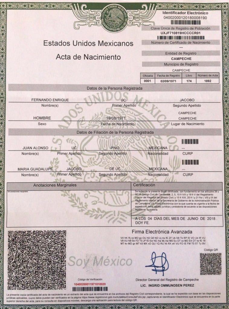 Hermosa Nacimiento En Línea Certificado De Trichy Embellecimiento ...