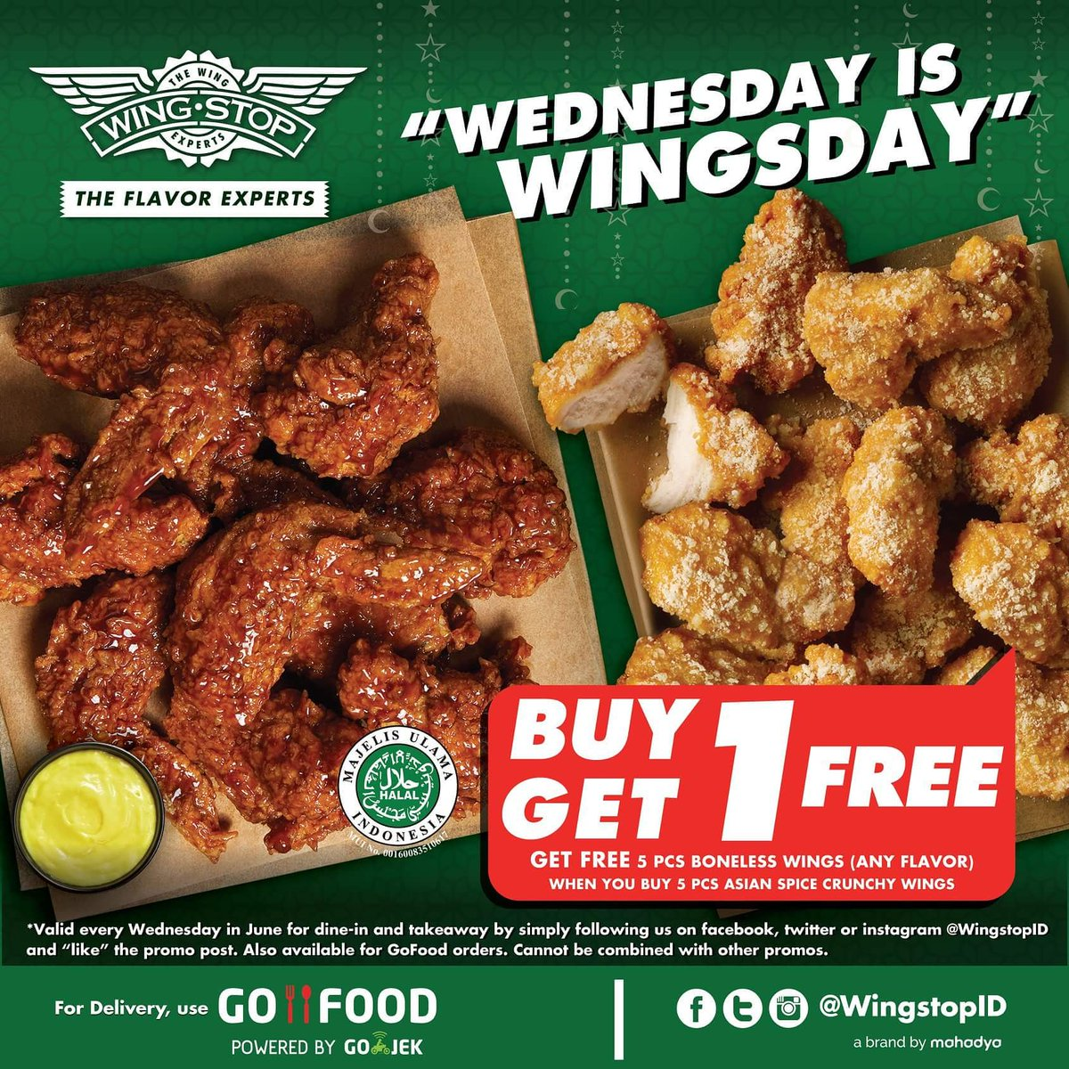 Wingstop Indonesia On Twitter First Wednesday Is Wingsday In