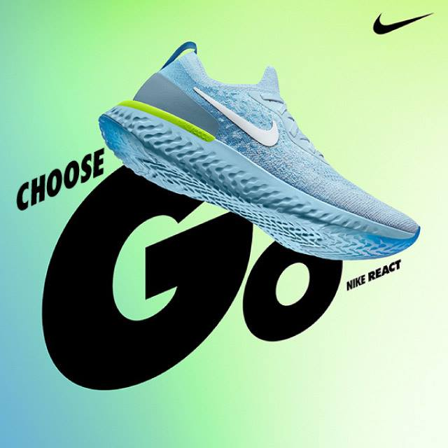 7865e00c31efe NIKE : Epic React Available now at Supersports Store and Supersports Online.  Shop now! > https://goo.gl/mbrp8e Price : 5,500 THB Size Men : 7-12 US Size  ...