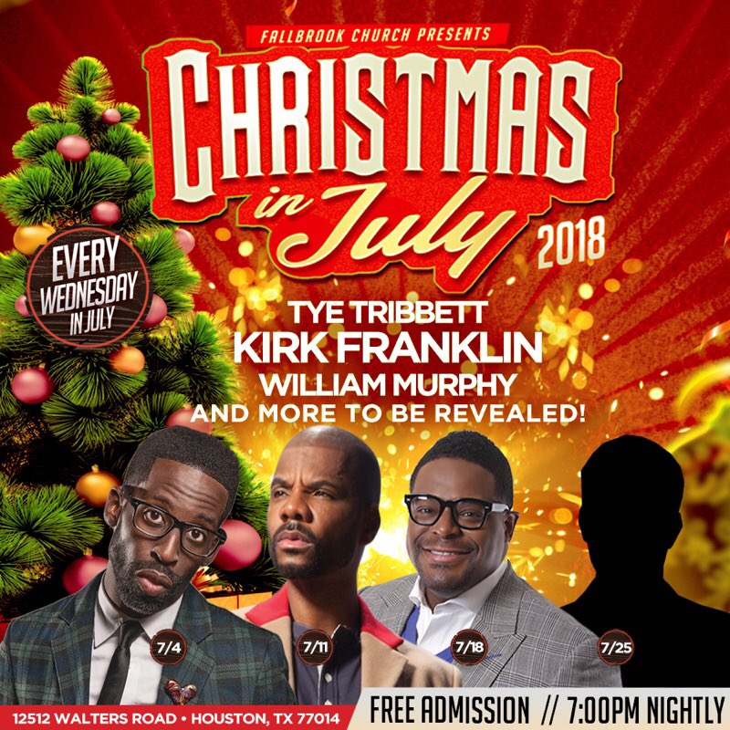 ... and Kirk Franklin. THIS WEEK's Christmas In July Artist Reveal is none other than Bishop William Murphy, best known for his HIT song - 'PRAISE IS WHAT I ...