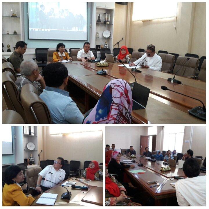 Rapat rutin tim sinergitas ABCGM dorong UMKM Jabar Naik Kelas