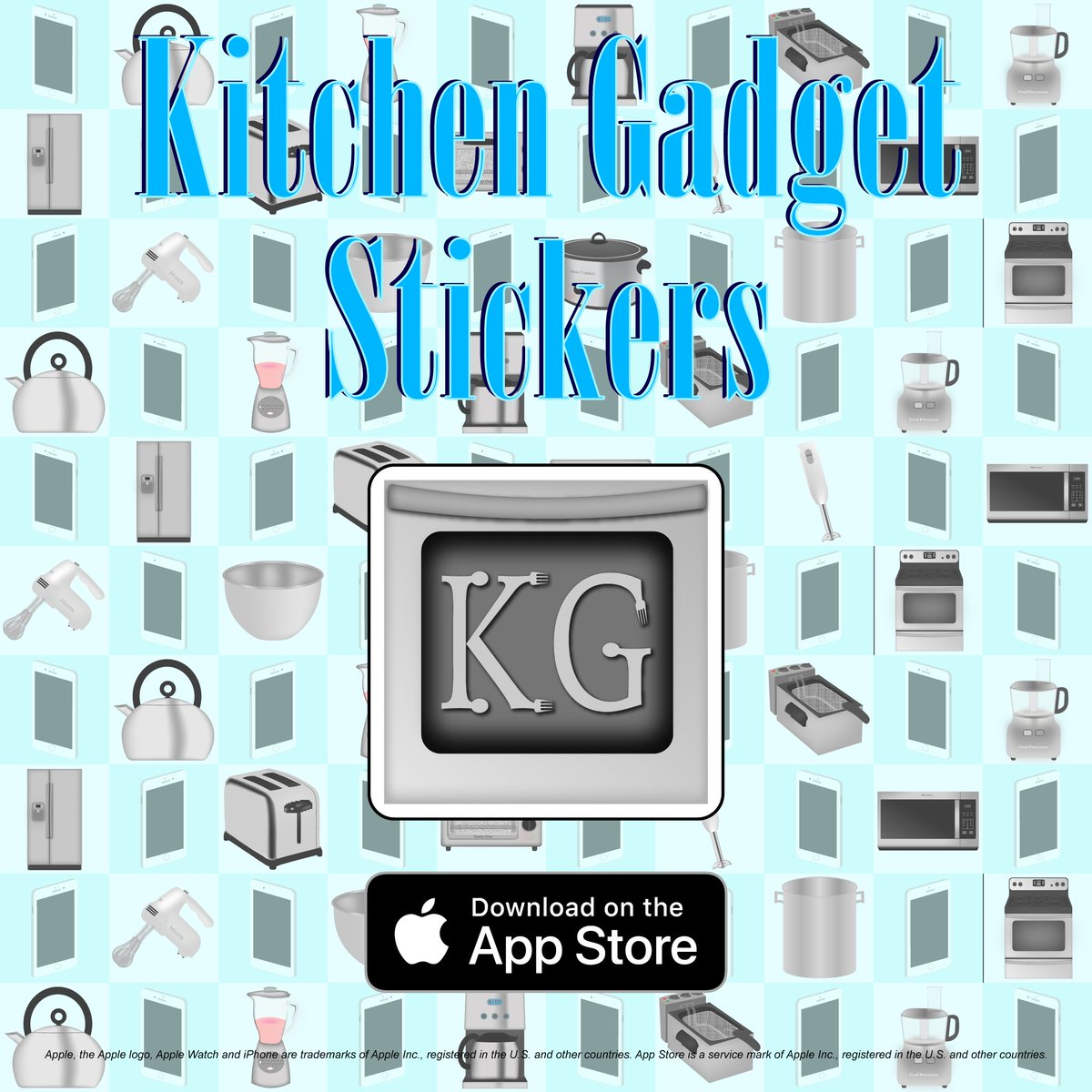 Kitchen Gadget Stickers on Twitter: \