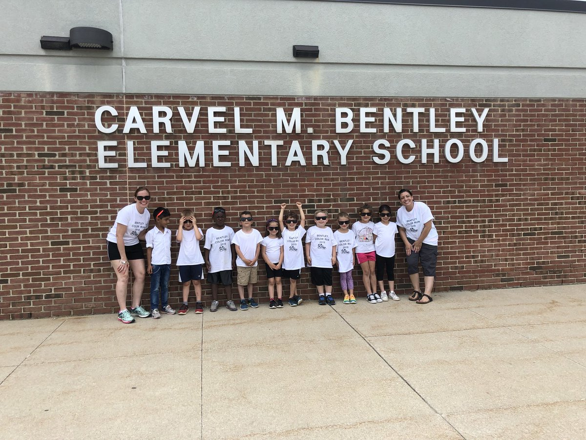 """bentley elementary on twitter: """"our first color run was awesome! the"""