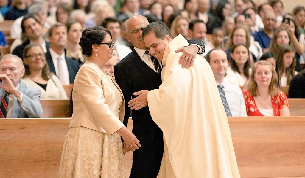Resultado de imagen de parents ordination priest