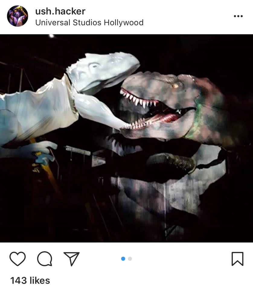 For A Literal Animatronic Dino Fight Over Your Heads In The New Jurassic World Ride And If Real I Am So On Boardpic Twitter Com Dfkguoopqu