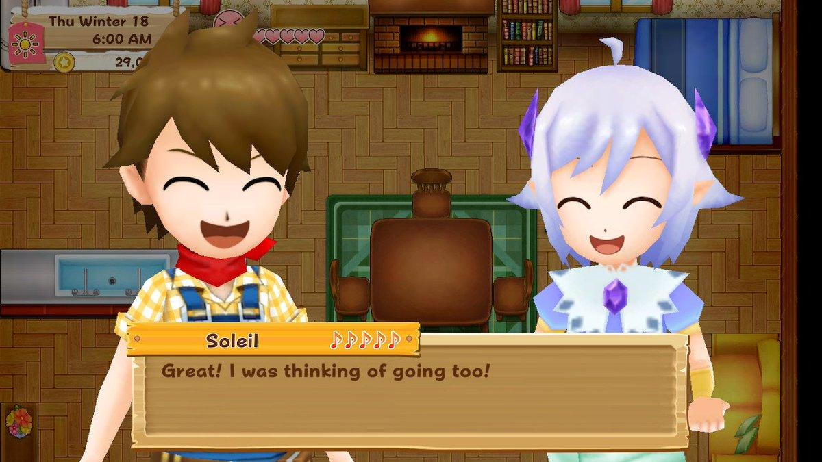 Weird little glitch regarding Soleil *spoilers* - Harvest
