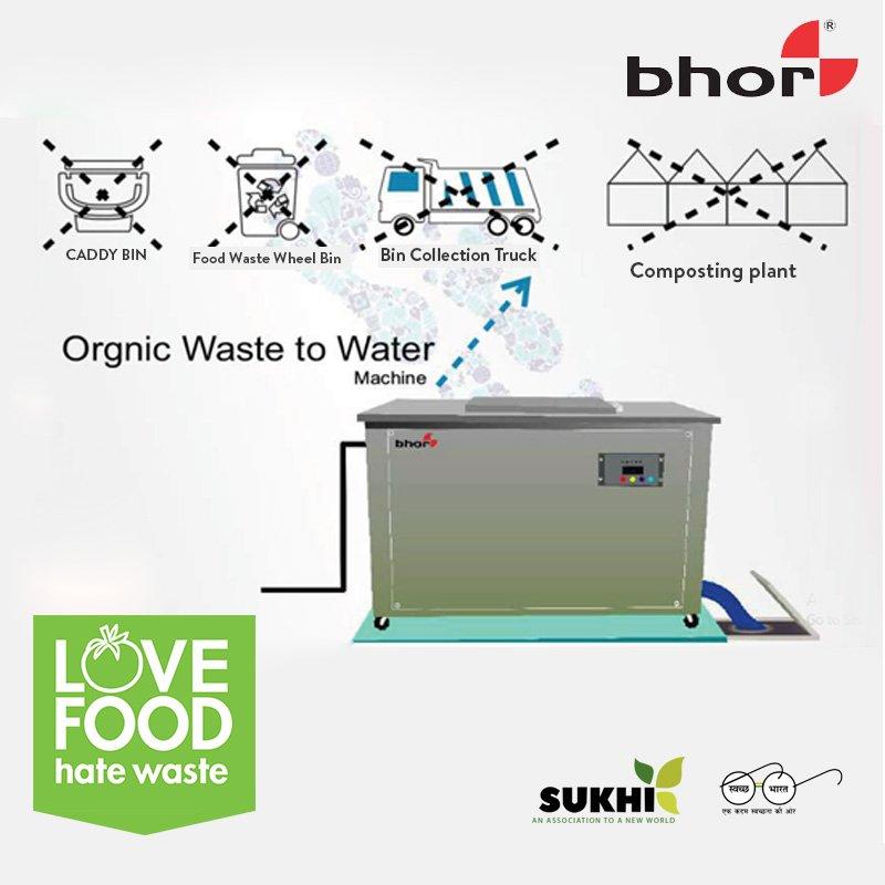 """""""Organic Waste to Water Machine"""" #swachhsurvekshan2018 #swachhbharatabhiyaan #swachhbharatmission #beswachh #foodwaste #organicwaste #composting #wastetocompost #sukhiservices #bhor #kitchenwaste #homewaste #pollution #environment #waste #wastetowaterpic.twitter.com/tgPVDBNyQc"""