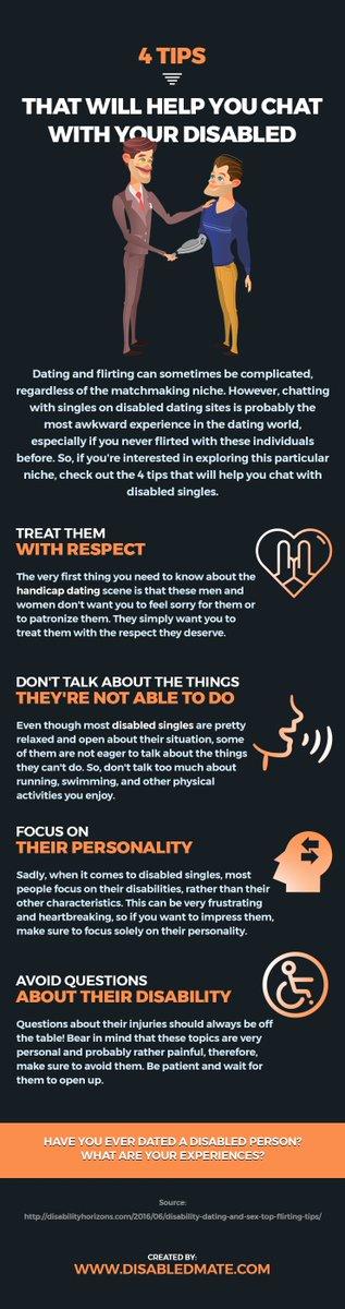 Handicappet dating advice