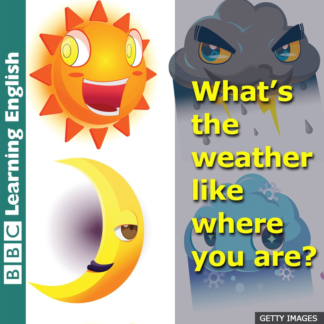 ☁️ Hello from London! ☁️  Learn some useful #vocabulary for talking about the #weather  https://t.co/jzUUQOTgvP