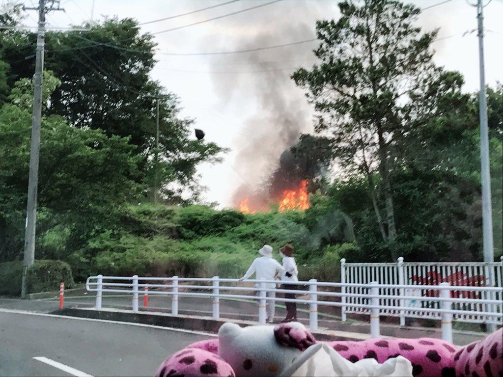 火事】財田町総合運動公園で火災...