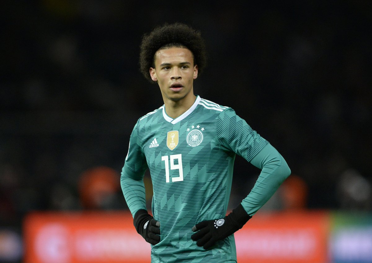 separation shoes 1e42b b4994 Leroy Sané left out of Germany's World Cup squad