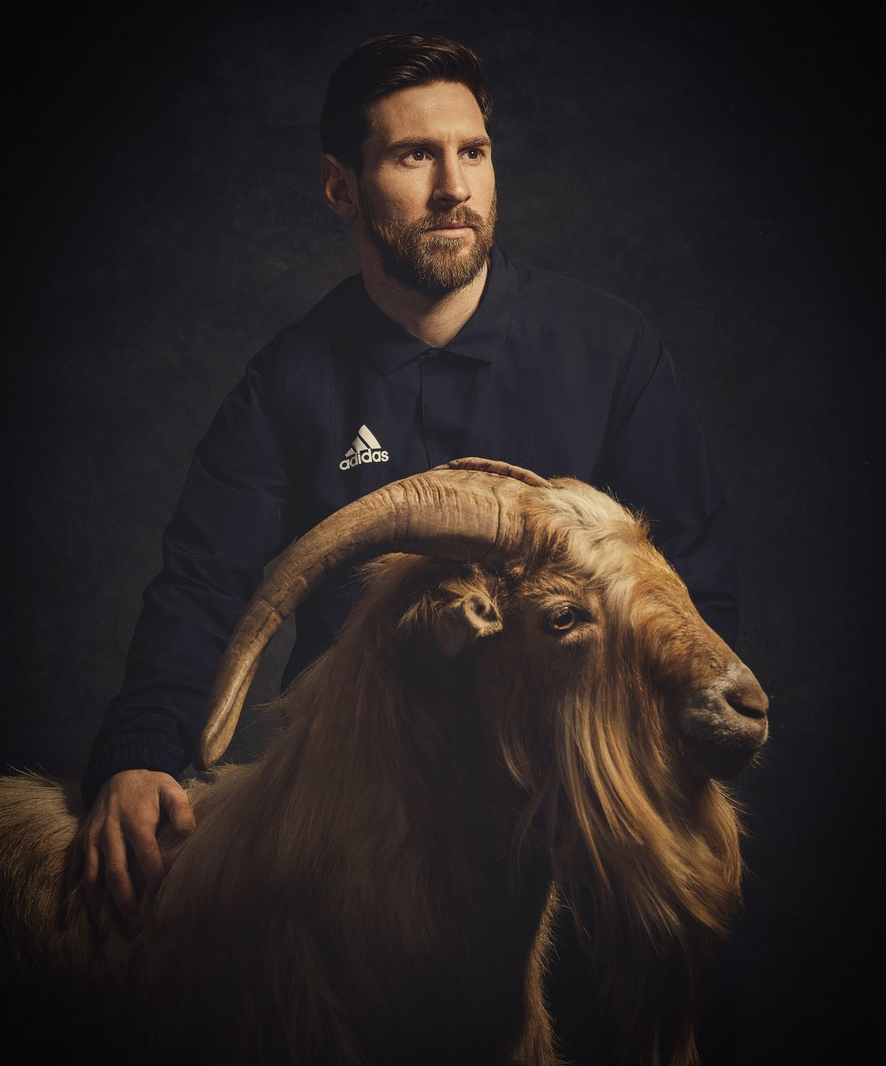 G.O.A.T. 🐐 #HereToCreate