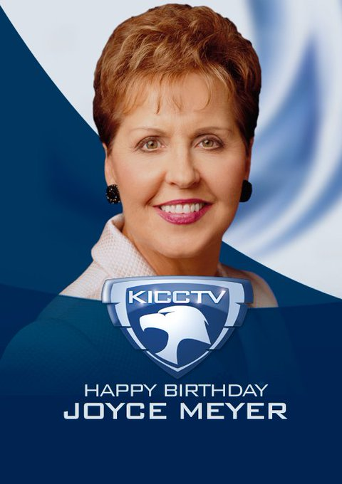 Joyce Meyer's Birthday Celebration   HappyBday.to