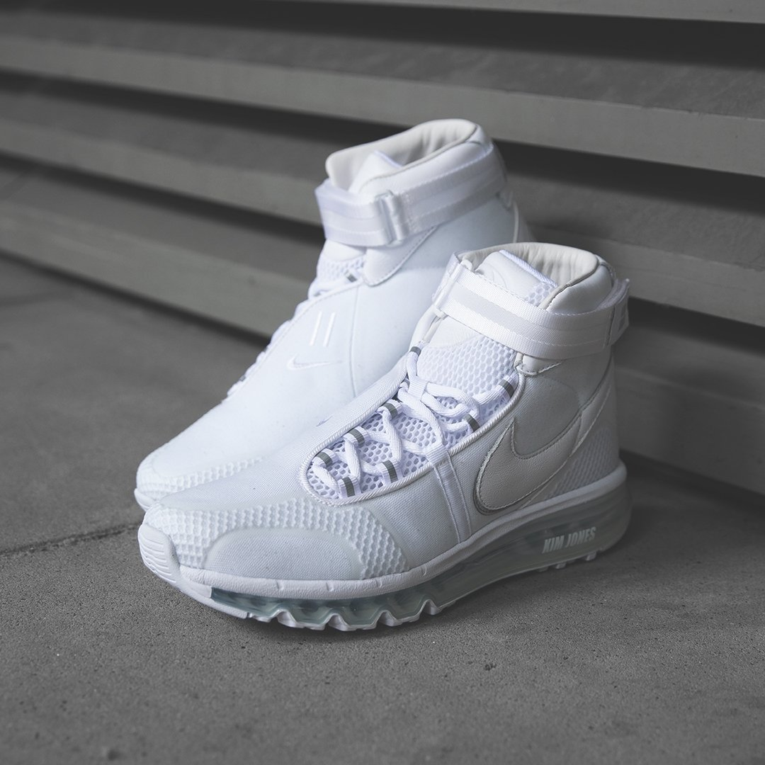 353116c13f6 Kim Jones x Nike Air Max 360 Hi. Now available online. Sizes range from UK6  - UK12 (including select half sizes)